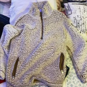 Fuzzy sweater from forever 21 size